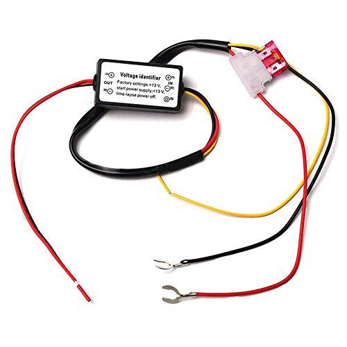 Yollhy Tagfahrlicht-Controller, Auto-LED-Tagfahrlicht-DRL-Relais-Kits für automatische EIN/AUS-Controller-Module