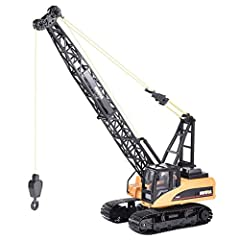 ★ Fast logistics usually takes 3-7 days. Welcome your purchase ▶ Full-featured - 15-channel remote control construction toy cranes operate like real cranes you see on construction sites. The RC crane can move forward/backward on the powerful threaded...