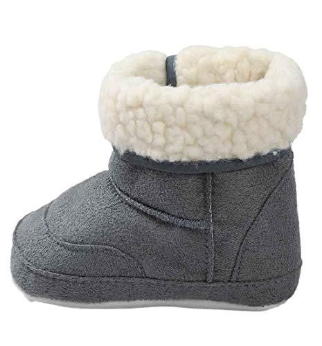 Amlaiworld Mode Bowknot Winter D/émarrage B/éb/é fille Style coton Bottes de neige chaudes 21, Brown Chaussures Bottes B/éb/é