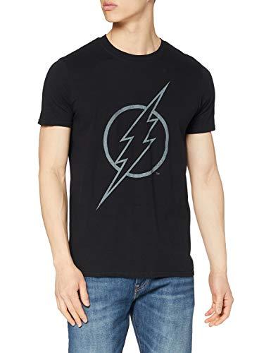 DC Comics Flash Line Logo Camiseta,...