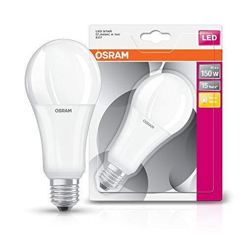 Osram LED Star Classic A E27 Bli, 19 W, Smerigliata, 150 W