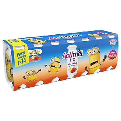 Actimel Kids Fresa Plátano 14x100 g