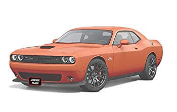 STO N SHO Front License Plate Bracket for 2015-2020 Dodge Challenger SXT R/T SRT Scat Pack Without Adaptive Cruise