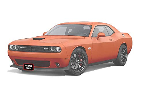 STO N SHO Front License Plate Bracket for 2015-2020 Dodge Challenger SXT, R/T, SRT, Scat Pack Without Adaptive Cruise