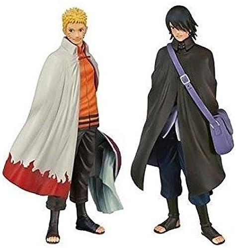 BORUTO bolt NARUTO NEXT GENERATIONS DXF figure Shinobi RelationsSP2COMEBACK  Naruto Sasuke set of 2