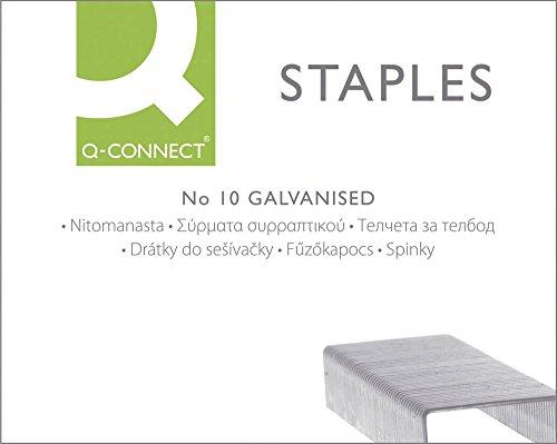 Q Connect KF01281 Grapas N 10  Caja