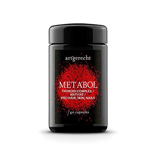 art´gerecht META'BOL – 60 Kapseln - aktiver Stoffwechsel mit L-Thyrosin und den wichtigsten Co-Faktoren