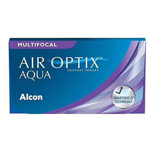 Air Optix plus HydraGlyde Multifocal Monatslinsen weich, 3 Stück / BC 8.6 mm / DIA 14.2 mm / ADD LOW / -2 Dioptrien