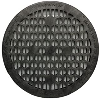 Jackel Drainage Cover (24 Inch Diameter - BLACK)