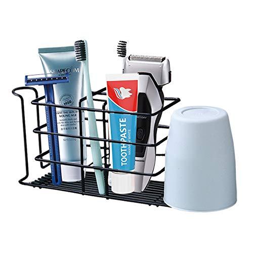 Soporte para cepillo de dientes montado en la pared, soporte para pasta...