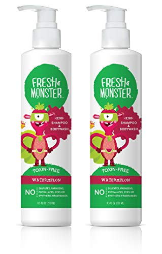 Fresh Monster Shampoo & Body Wash Watermelon for Kids