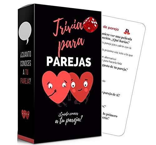 Marta Fedriani |Trivia Parejas Plus (Edición Mejorada) | Juego de Cartas Divertido...