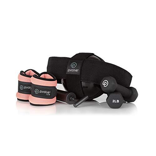P.volve Beginner Kit - Workout Equipment (Black)