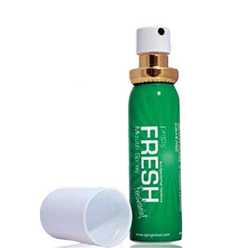 Spray Uso Orale Rinfrescante Alito Fresco Antibatterico Alla Menta Senza Alcol