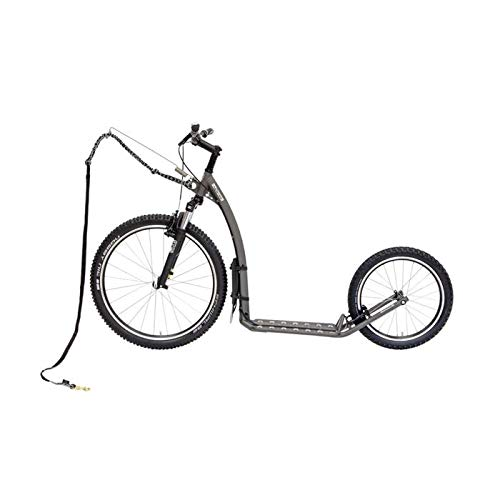 Kostka Scooter All Terrain Footbike Mushing Fun G5, grau