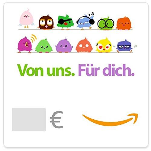 Digitaler Amazon.de Gutschein (Vögel)