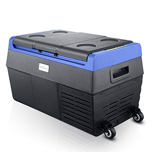 Setpower TC20 21 Quarts Portable Freezer Fridge with Wheels, -4℉ to 68℉, Car Fridge for Truck, Van, RV Road Trip, Outdoor (EA20 Pro, with Wheels, Soft Rope Handles and Bottle Opener)