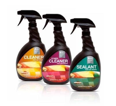 Reiniger, Kraftreiniger und Versiegelung für matte, satinierte oder glänzende Fahrzeugfolien von DaHici