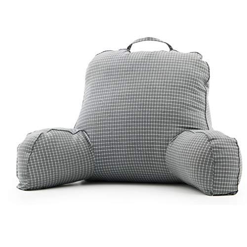 Xiaojie Yu Zhijie gran respaldo cama almohada lumbar almohada almohada cojín cabecera respaldo jefe silla estudiante dormitorio grueso cintura asiento sofá A