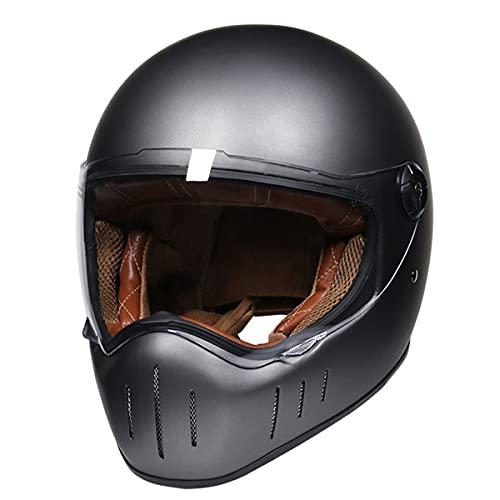 Casco de moto integral casco casco casco vintage retro Capacete De Motocicleta 4 XL