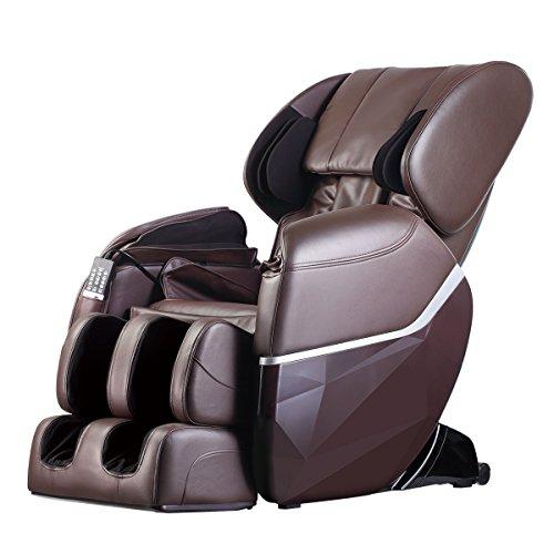 Top 10 Best electric full body shiatsu massage chair foot roller zero gravity w heat Reviews