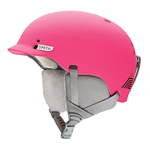 SMITH Gage–Casco de esquí Infantil, Color Matte Crazy Pink Mon, tamaño M