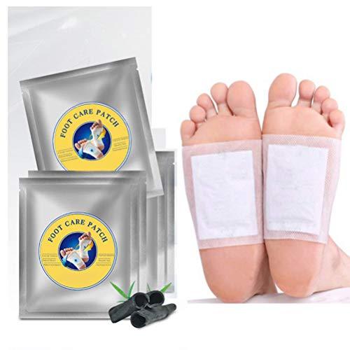 Borstu Detox Voetpleister 2/10 stuks detox-pleisters voetverzorgingspads van natuurlijke kruiden voor verbeteren de slaapkwaliteit, vermindert vermoeidheid