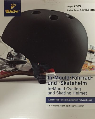 Tchibo In Mould Fahrradhelm Skatehelm Helm Inline Scooter Stuntscooter Skateboard