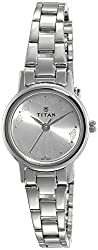 Titan Karishma Revive Analog Silver Dial Women's Watch image on review to shop