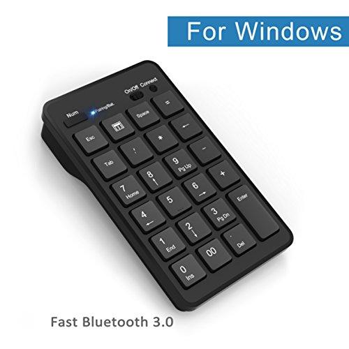 Pavé numérique Bluetooth sans Fil Portable 22 Touches
