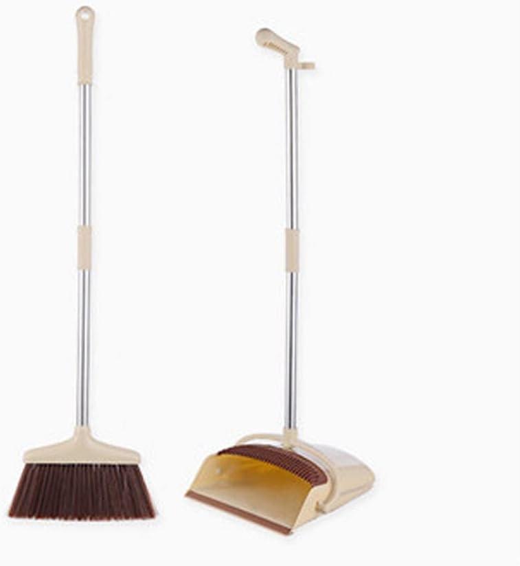 BAWAQAF Recommendation Broom and Dustpan Set Dustpa for Home Japan Maker New Long-Handled