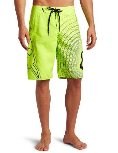 Fox Herren V3 Boardshorts, Day Glow Yellow, 32