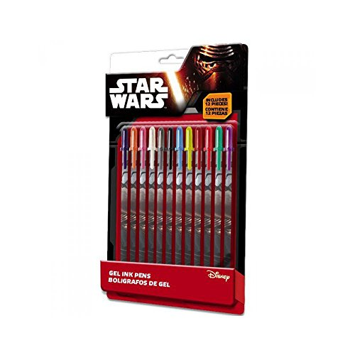 Unknown Kids Licensing - swe7020 - 12 Colors Star Wars VII Gel Pens