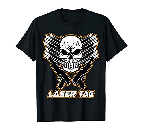 Laser Tag Fun Game Lazer Gun Cool Lasertag Perfect Gift Idea T-Shirt