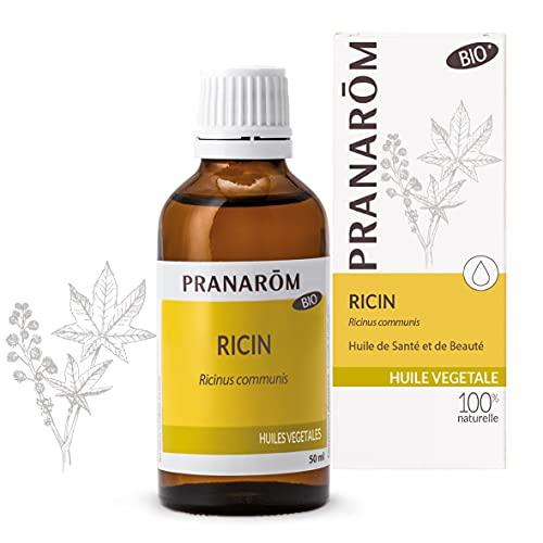 Pranarôm Ricin Bio Huile Végétale Ricinus communis - Vierge de première pression à froid 50 ml
