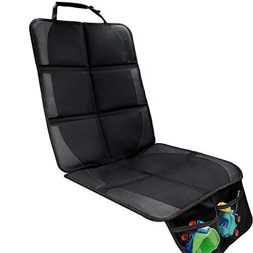 Funda para asiento de coche, de Mettime, protección contra los asientos del coche, alfombrilla para asiento infantil en ajuste universal, impermeable