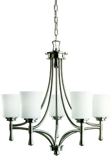 Kichler 2120NI We OFFer at cheap prices Wharton Max 81% OFF 5-Light Chandelier Nickel with S Brushed