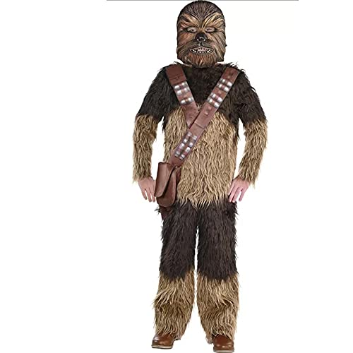 Star Wars Youth Costume Choose Chewbacca Storm Trooper Han Solo Dress Up Hallowen (Chewbacca, Small)