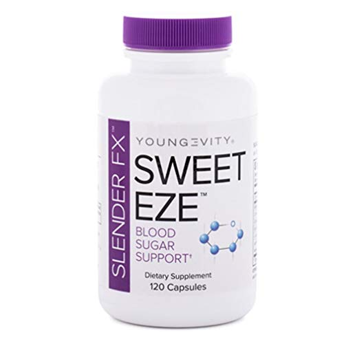(INTERNATIONAL SHIPPING) Slender FX Sweet Eze 120 Capsules Blood Sugar...