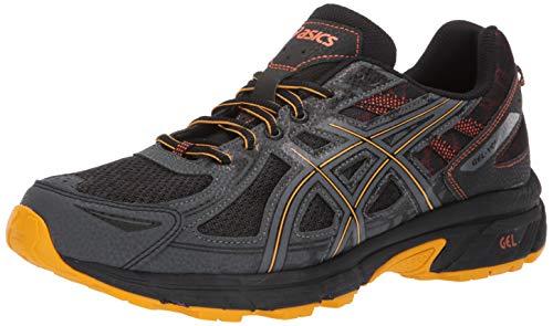 ASICS Men's Gel-Venture 6 MX Running Shoes, 11M, Black/Sunflower