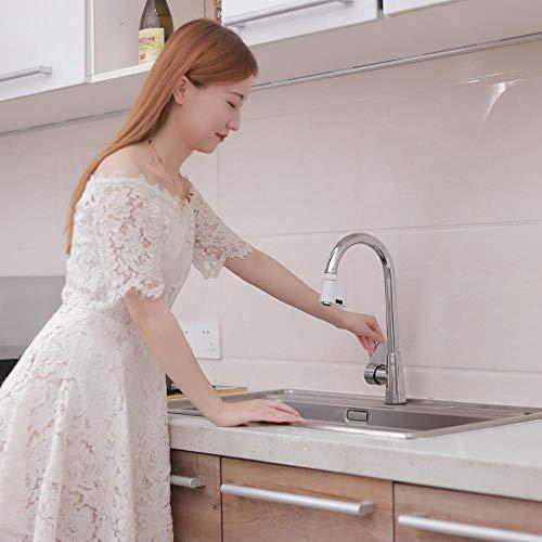 Grifo del sensor de ahorro de agua del sensor doble del baño de la cocina del hogar