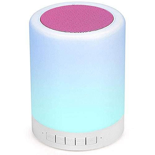 XFSE Flammenlicht Bluetooth Lautsprecher Smart Touch Farbe Stereo Subwoofer Geeignet Für Dating Familienthema Nachttischlampe Laden Von USB
