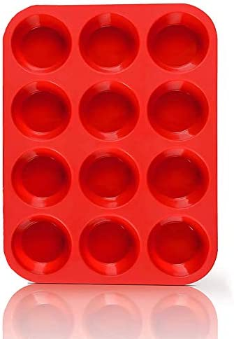 Non Sticky Silicone Muffin Pan Muffin Molder for Muffins and Cupcakes Cupcake silicone molder product image