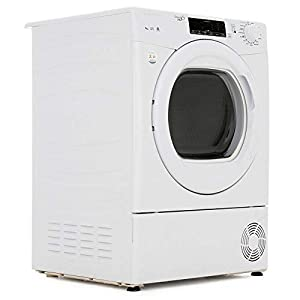 Candy GSVC9TG - Asciugatrice a condensatore, 9 kg, colore: Bianco