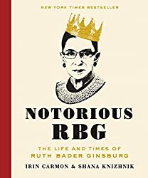 red spine book cover notorious rbg