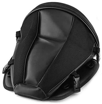 XinYiC Bolsas de motocicleta equipaje, Moto Bike Deportes Impermeable Mochila de Asiento de Transporte Cola Bolsa de Almacenamiento Alforja de Cuero para Moto Herramienta