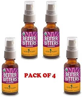 Better Bitters - Classic 1oz (Pack of 4), Herb Pharm