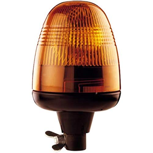 HELLA 9EL 859 020-001 Lichtscheibe, Rundumkennleuchte - Lichtscheibenfarbe: gelb
