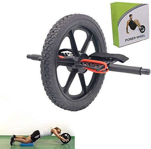 lqgpsx AB Belly Wheel, Ejercicio de núcleo multifunción, Rueda de Ejercicio de pie, Rueda de Vientre de Doble Uso, Desmontable, Cómodo, Deportes, Fitness, Alfombrilla