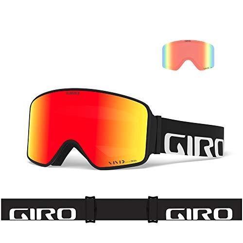 Giro Snow Unisex– Erwachsene Method Skibrille, Black Wordmark Vivid Ember/Vivid Infrared, Einheitsgröße